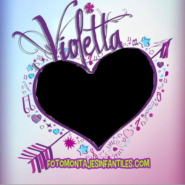 cuadro de violetta para poner tu foto by emiediciones on