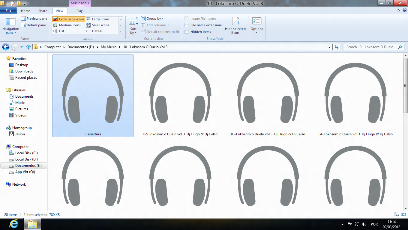 Windows 8 Consumer Preview - Icons