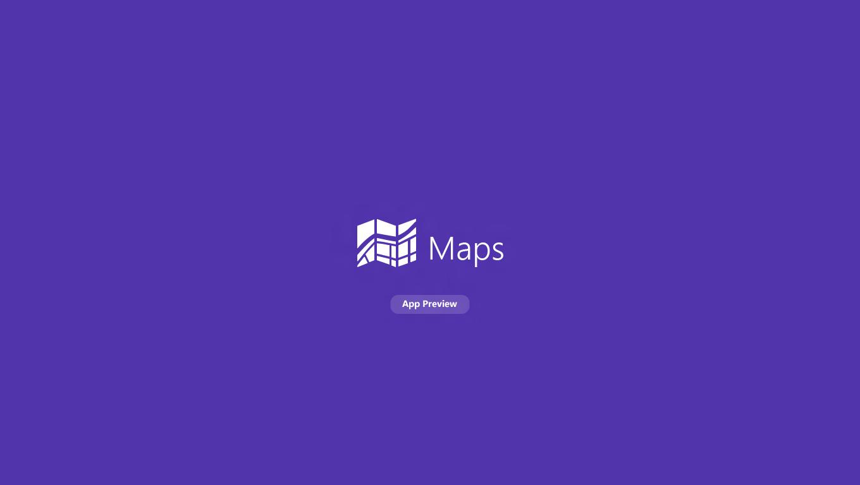 Windows 8 Consumer Preview - Maps Intro