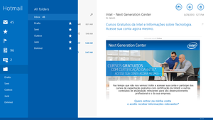 Windows 8.1 RTM 9600 - New Mail