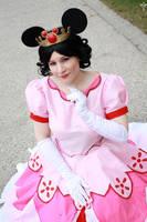 KH: Bbs Queen Minnie of Disney Castle by KuraiOfAnagura
