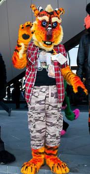 Kimbo the Dragon Fursuit Photo 1