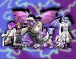 Drotomon family by Cachomon
