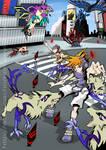 Scramble Crossing Battle