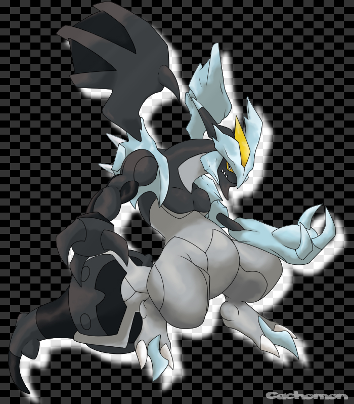 Black Kyurem by Cachomon