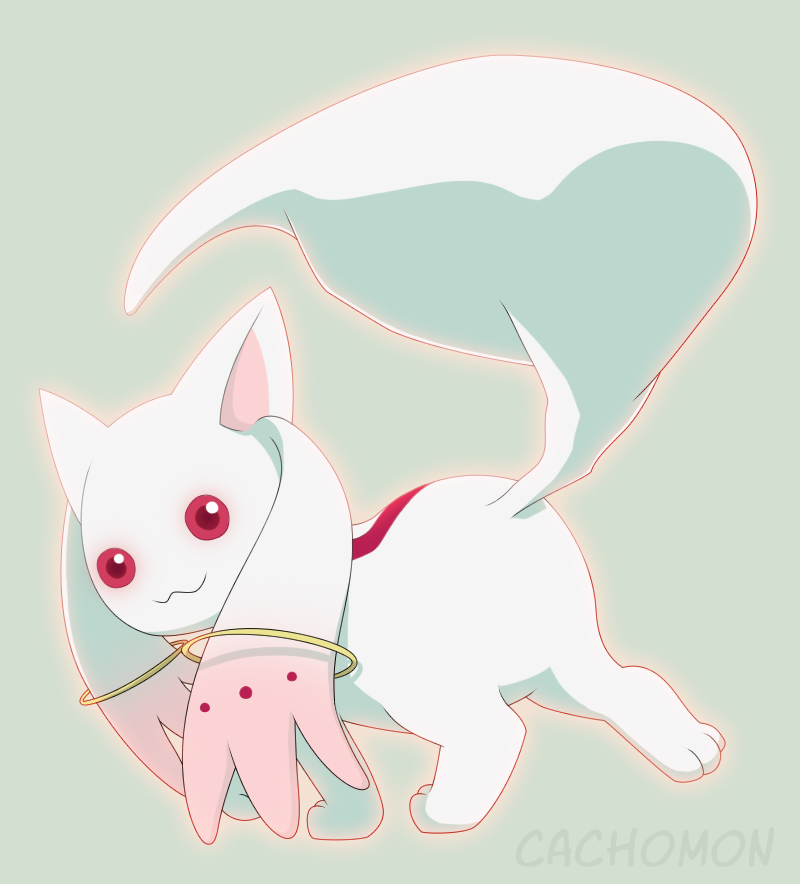 Kyubey by Cachomon