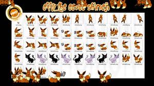 Effy the Eevee Shimeji +FREE+