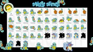Squirtle Shimeji +FREE+ by Cachomon