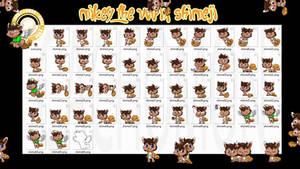Mikey the Vulpix Shimeji +FREE+