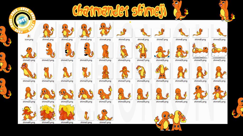 Charmander Shimeji +FREE+