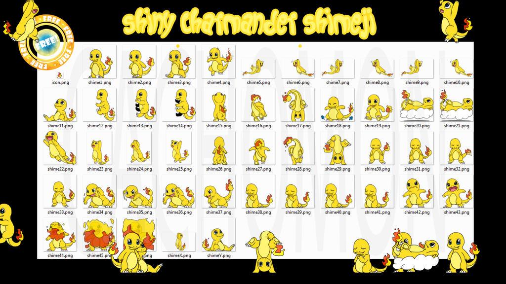 Pokemon Shiny Charmander Qr Code Images Pokemon Images