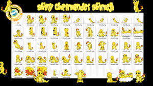 Charmander Shiny Shimeji +FREE+