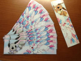 Shiny Sylveon Bookmark! (photo size 5)