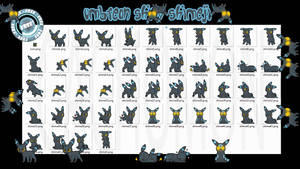 Umbreon Shiny Shimeji +FREE+