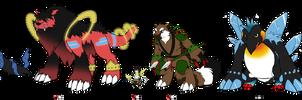 Our Mega Digimon - Size Chart