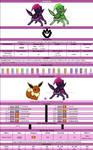 Official Chart - Veneneon +Eevee Poison evolution+
