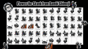Flower the Skunk from Bambi Shimeji +FREE+ [SFW]