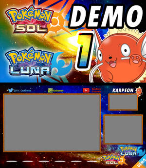 PKMN Sun and Moon DEMO - Youtube Layout