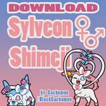 Sylveon Shimeji +FREE+ [SFW, NSFW-, NSFW+]