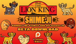 The Lion King SHIMEJI PROJECT [Support Search!]