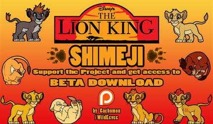 The Lion King SHIMEJI PROJECT [Support Search!] by Cachomon