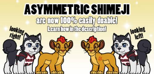 Asymmetric Shimeji are now easy to do! [v1.0.8] by Cachomon