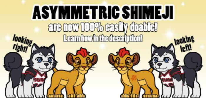 Asymmetric Shimeji are now easy to do! [v1.0.8]