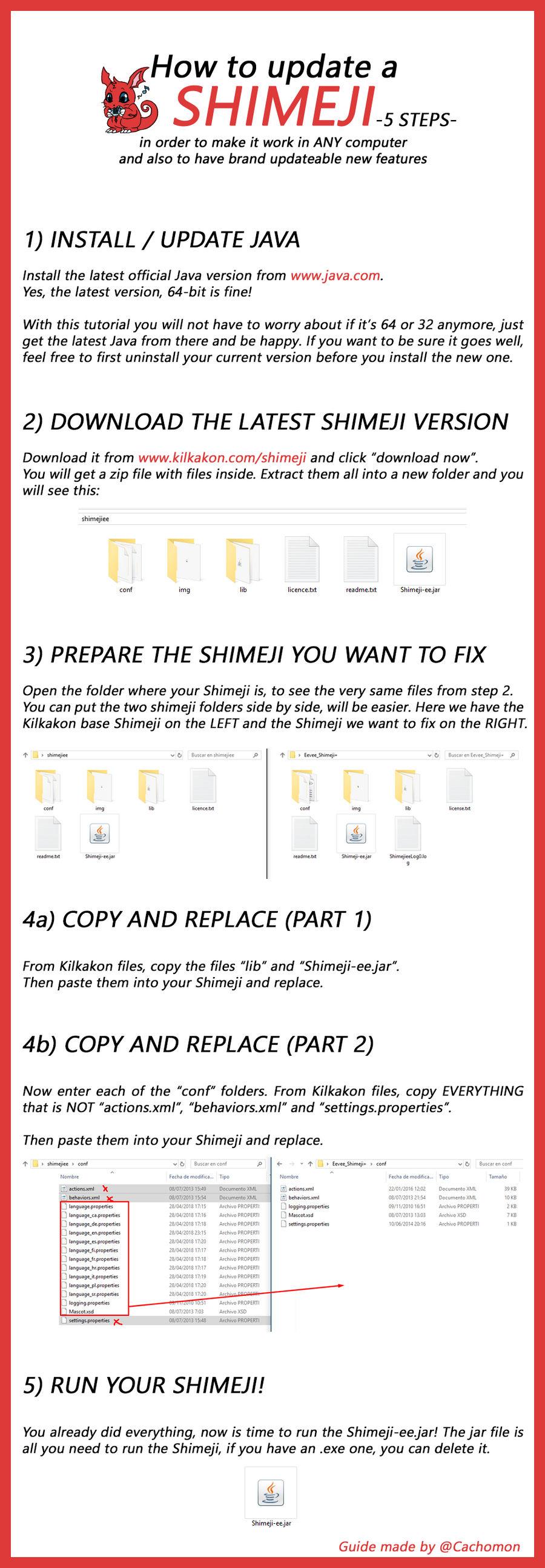 How to make SHIMEJI work no matter what [TUTORIAL]