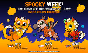 SHOKUBELL SP00KY WEEK 2018! [OPEN]