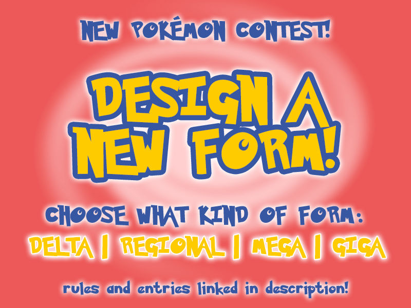 [CONTEST] DESIGN A POKEFORM [WINNERS]