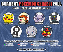 Next Pokemon Shimeji Campaign [polls close soon!]