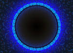 Neon circle background by gin-tas