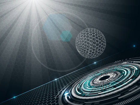 Futuristic-background-with-sphere