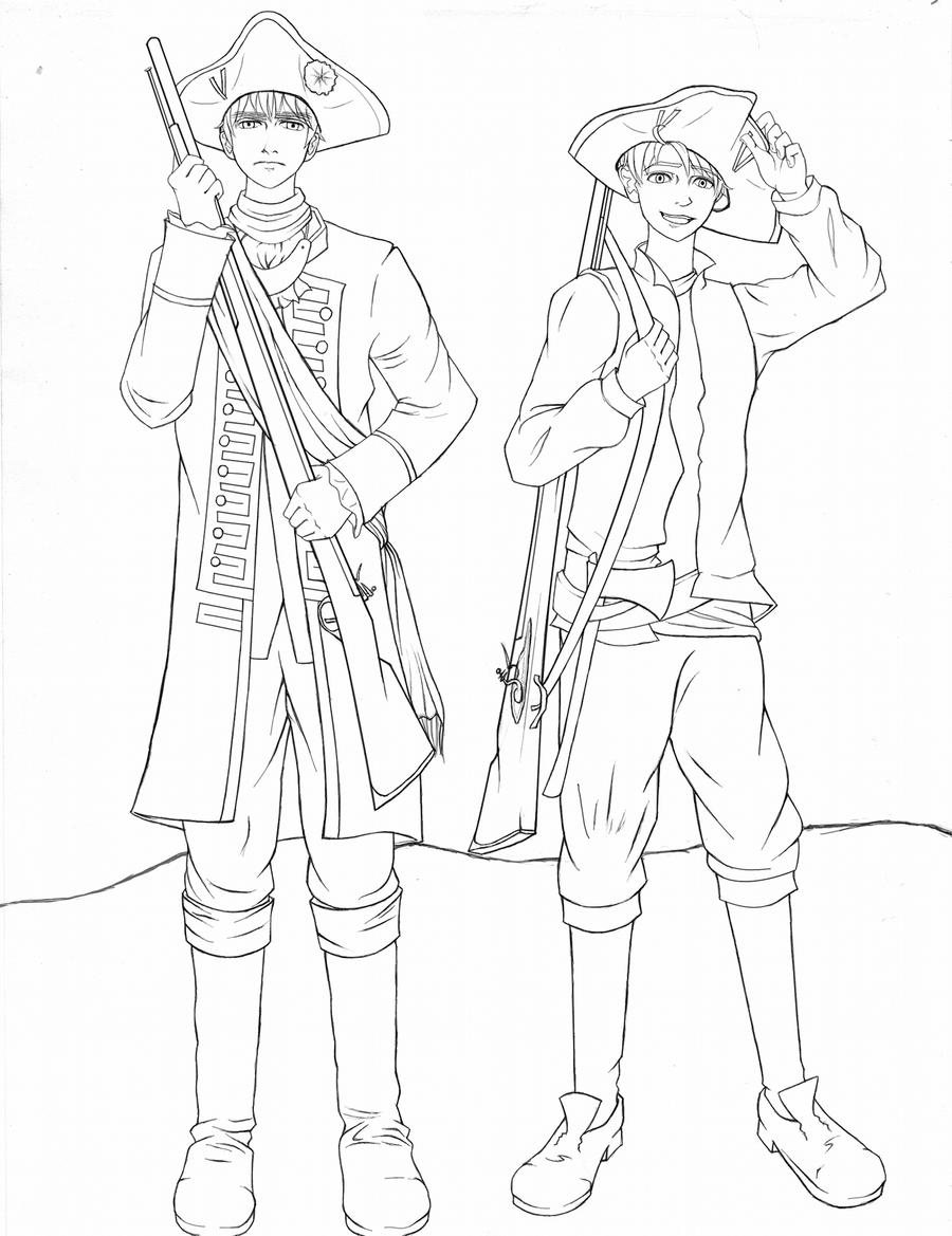 french and indian war coloring pages | French and Indian War [collab WIP] by HeroicPlights on ...