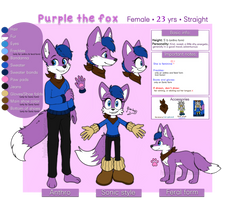 Purple the fox (2019 REF)