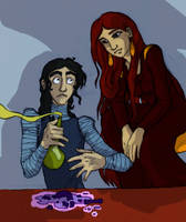 So, what's the new potion, Mozenrath? by Asisko4