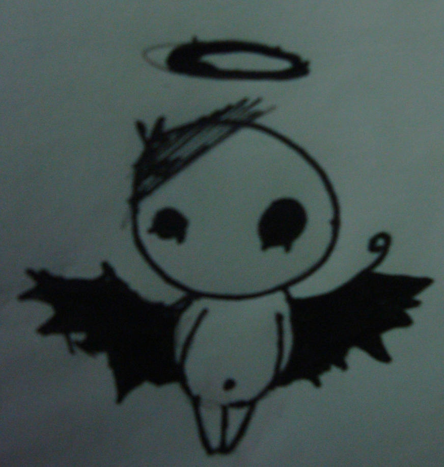 Emo angel by gamerextremer on