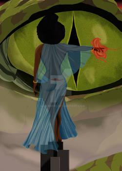 Lady In Blue Artstation