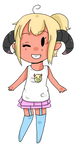 :PC: Demon girl doodle chibi: by ForbiddenLofn