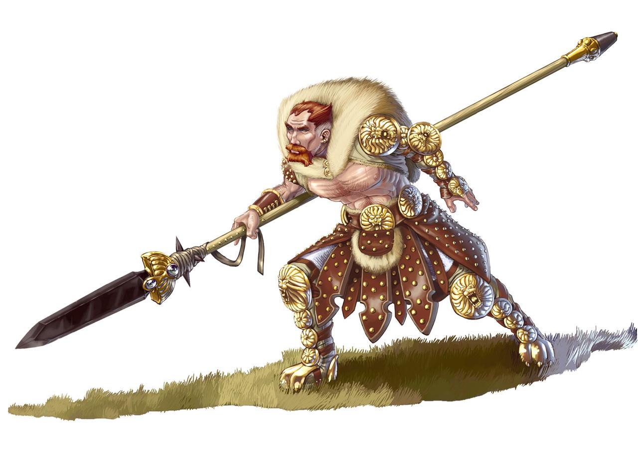 Deviantart Lion Warrior: FEZ Lion Warrior By MattPLOG On DeviantArt