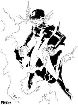 Superheroine: Joule