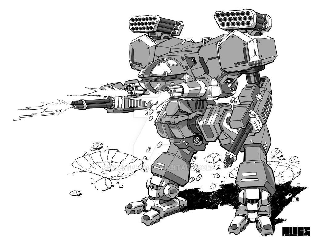 Comm: RAC Assault Mech by mattPLOG