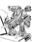 Comm: Grey Death Space Heavy Armor