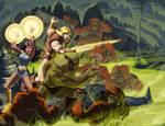 Thundarr .vs. The Subterrangutangs
