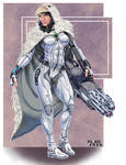 comm: Snow Raven Elemental