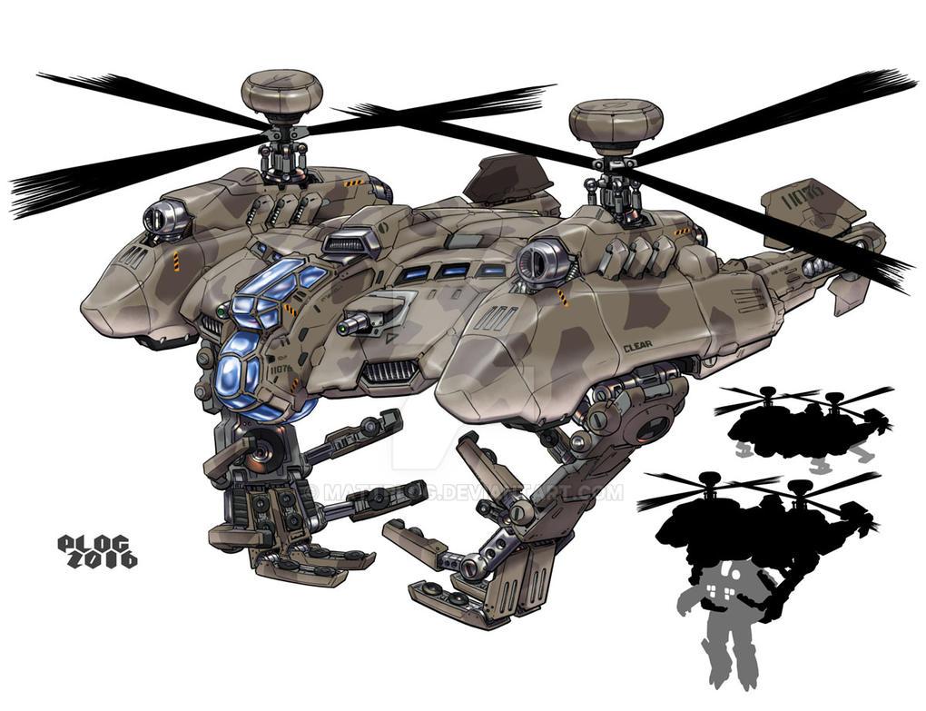 Comm: Mechlift Helo by mattPLOG