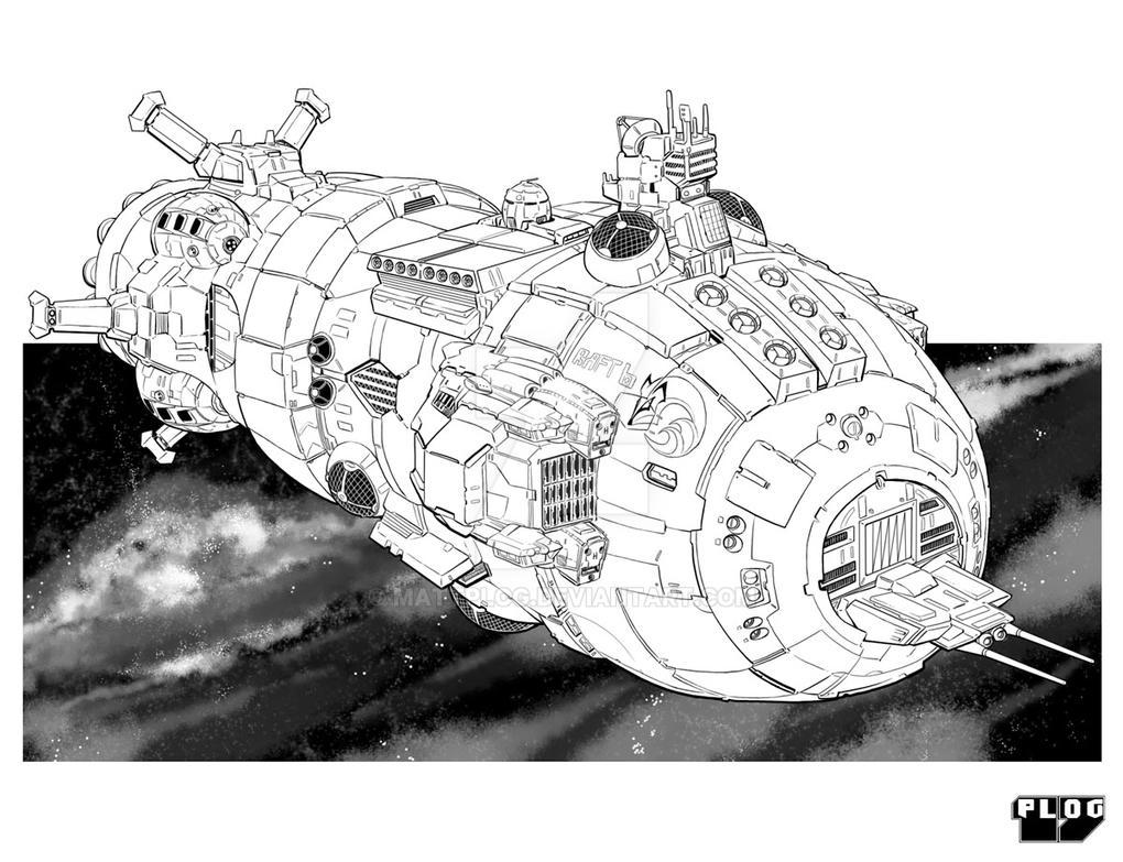 Comm: Arc Ship by mattPLOG