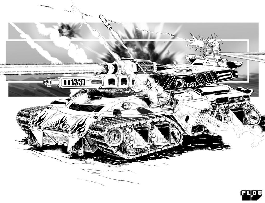 Comm: Hvy Combat Tank by mattPLOG