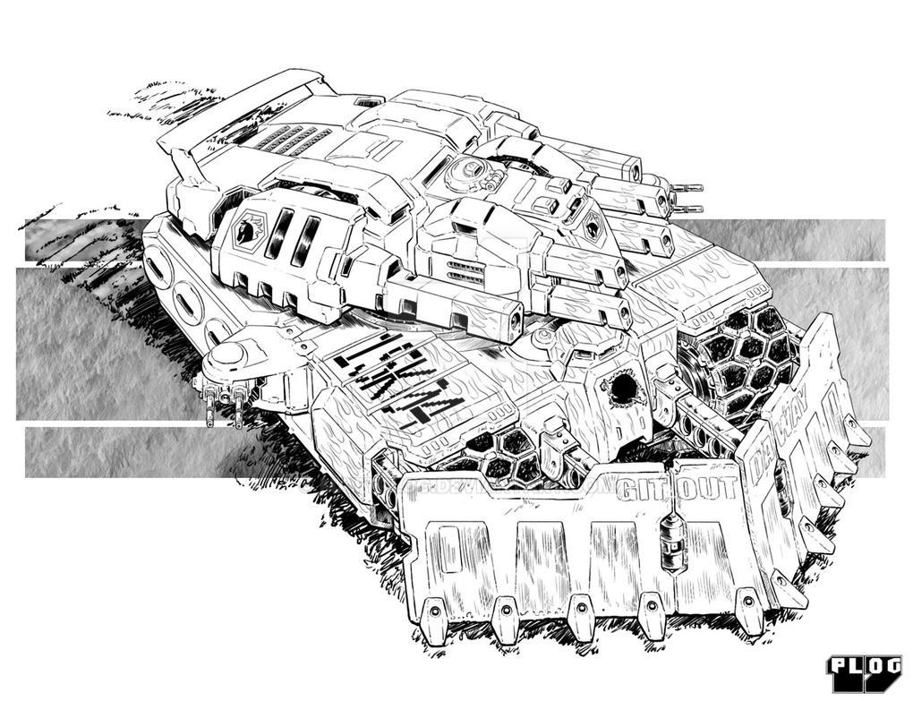 Comm: Combat Eng Tank by mattPLOG