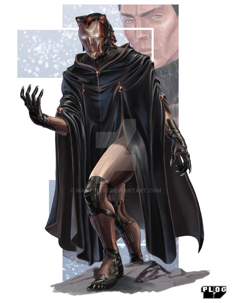 Comm: Cloaked Warrior by mattPLOG